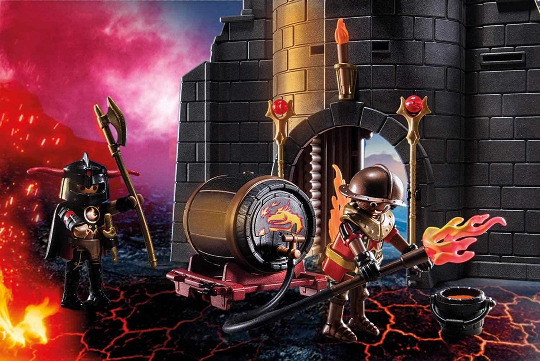 Burnham Raiders Fire Ruin Playmobil Novelmore 70539