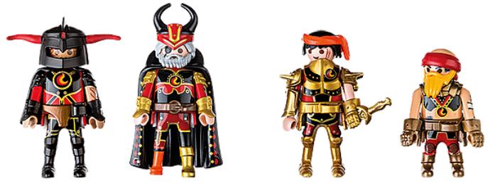 Playmobil Burnham Raiders knights
