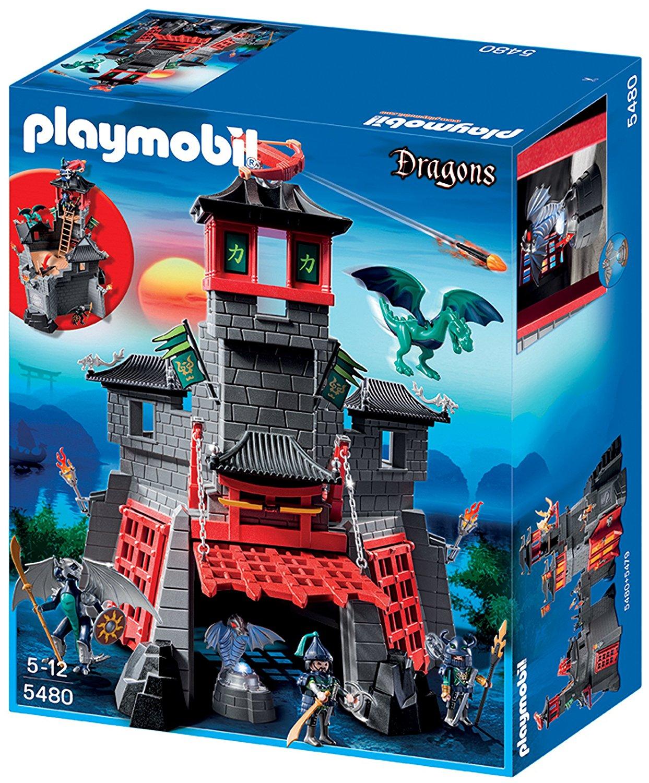 The Secret Dragon Fort Playmobil 5480