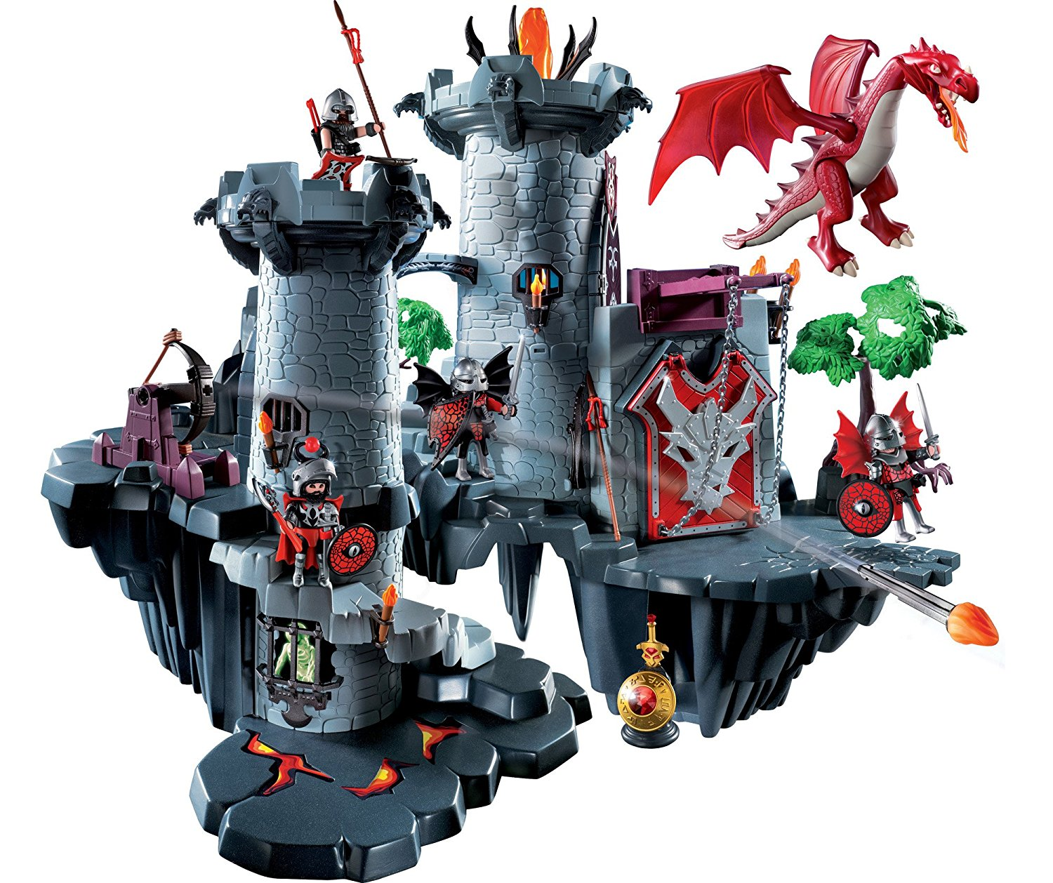 Great Dragon Castle 4835 Playmobil