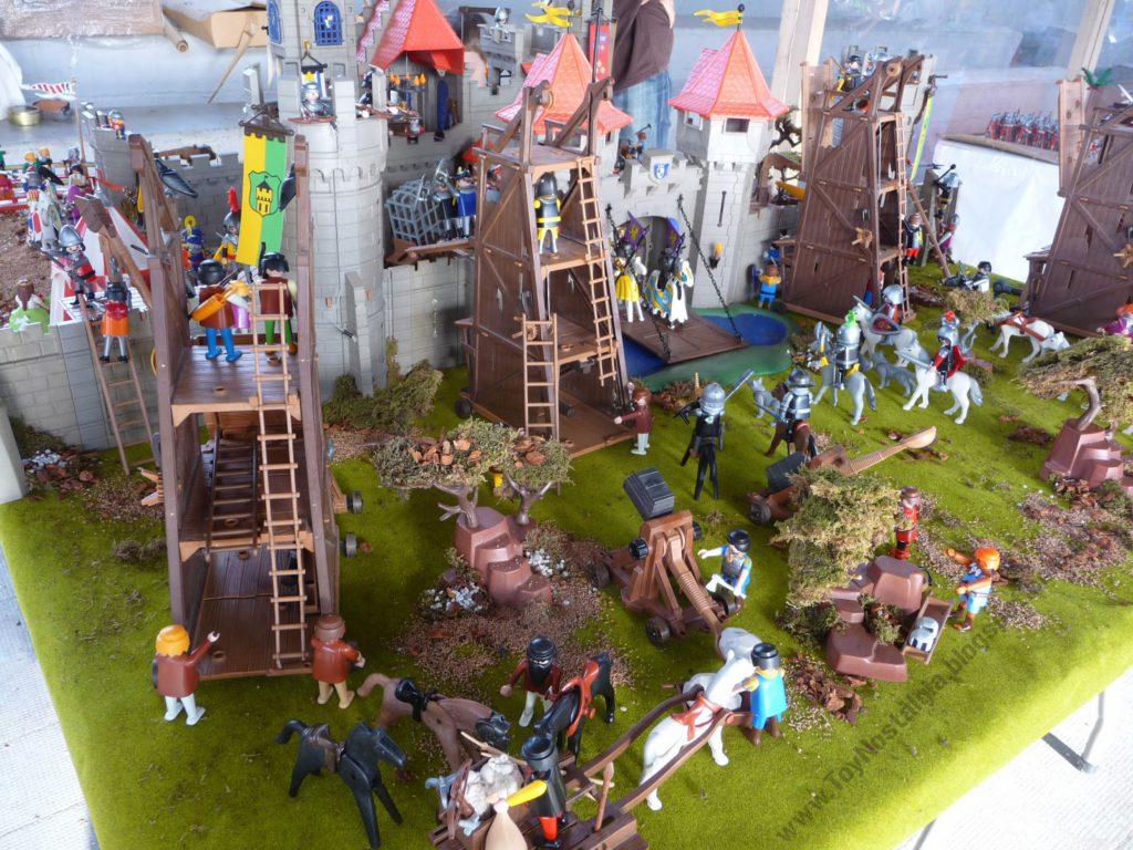 Diorama castles playmobil