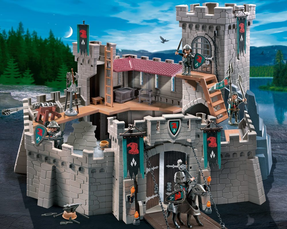 Falcon Knight's Castle Playmobil 4866