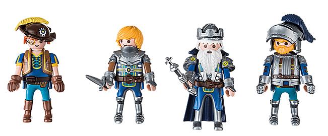 The Novelmore Playmobil knights