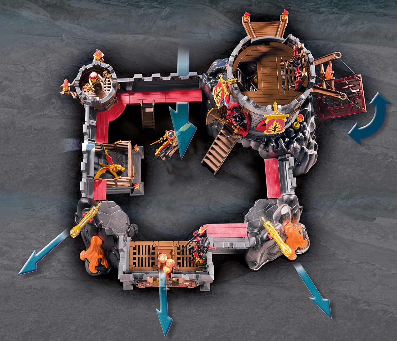 Playmobil Novelmore Burnham Raiders Fortress Playset 70221
