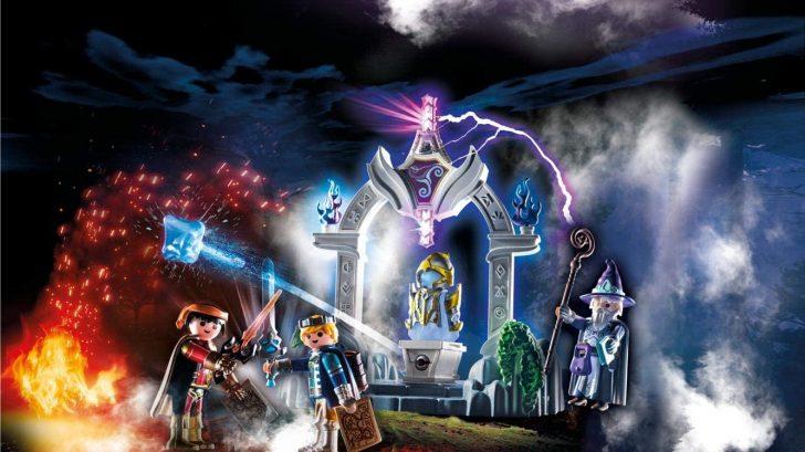 Temple of Time Playmobil Novelmore 70223